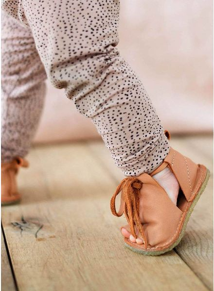 Birds of Nature summer sandal peach