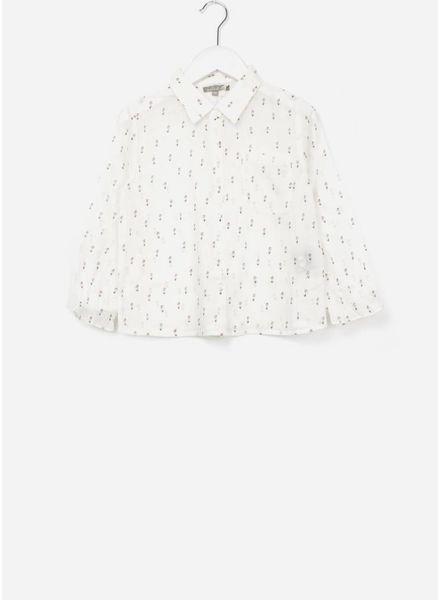 Emile et Ida blouse craie floral