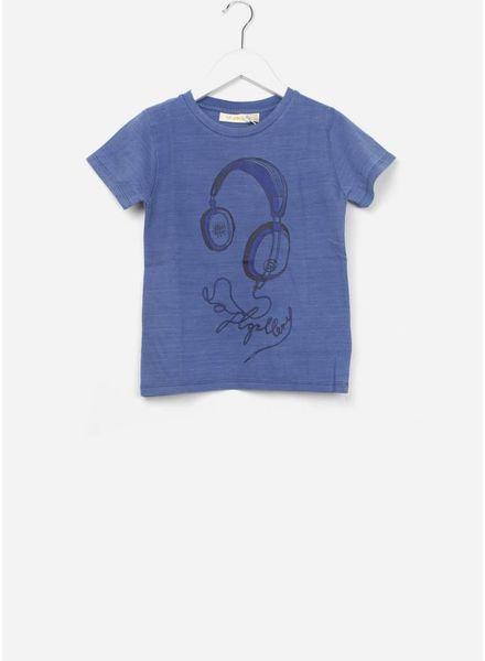 Soft Gallery Bass t-shirt denim wash headphones