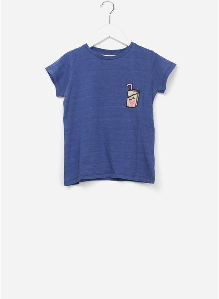 Soft Gallery Pilou t-shirt denim wash milk p emb
