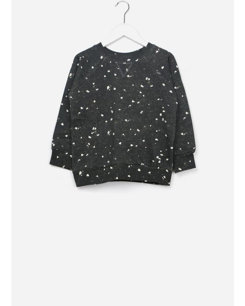 Soft Gallery Siggi sweatshirt aop terazzo blk
