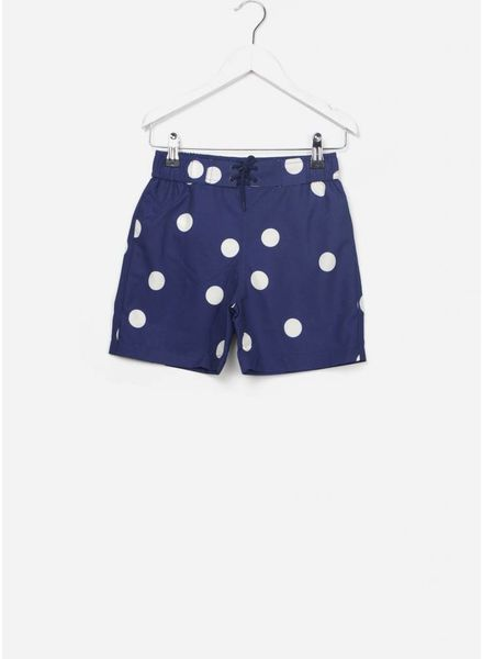 Mini Rodini Dot swim shorts navy