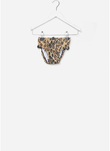 Mini Rodini Leopard baby swimpants beige