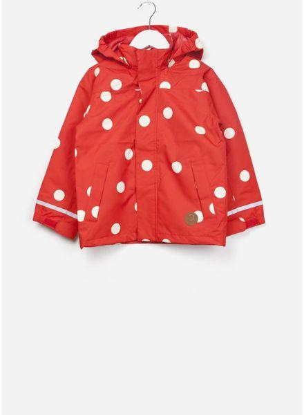 Mini Rodini Edelweiss jacket red