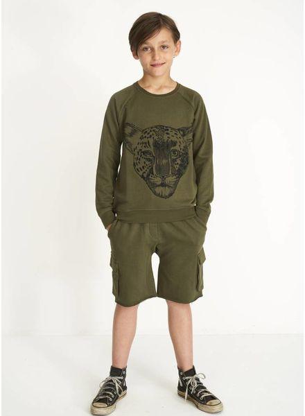 Soft Gallery Chaz sweatshirt burnt olive leo