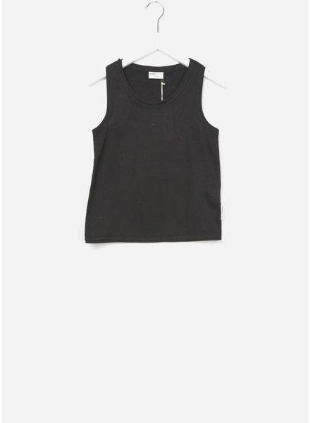Maed for mini t-shirt black bird
