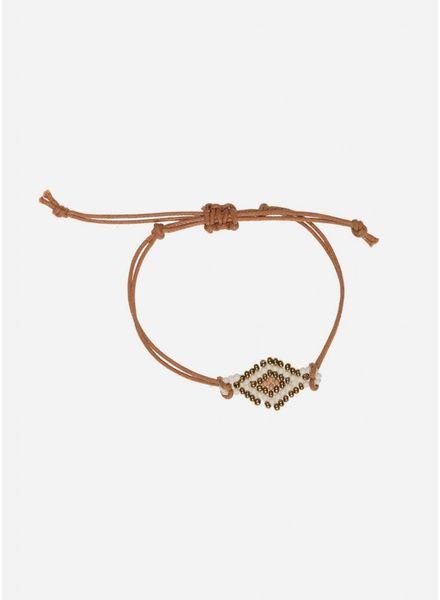 By Bar Yara bracelet old pink