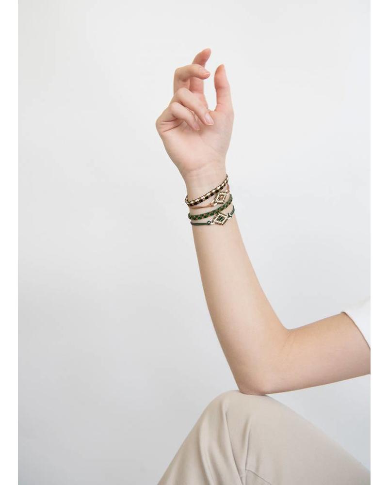 By Bar Yara bracelet off black