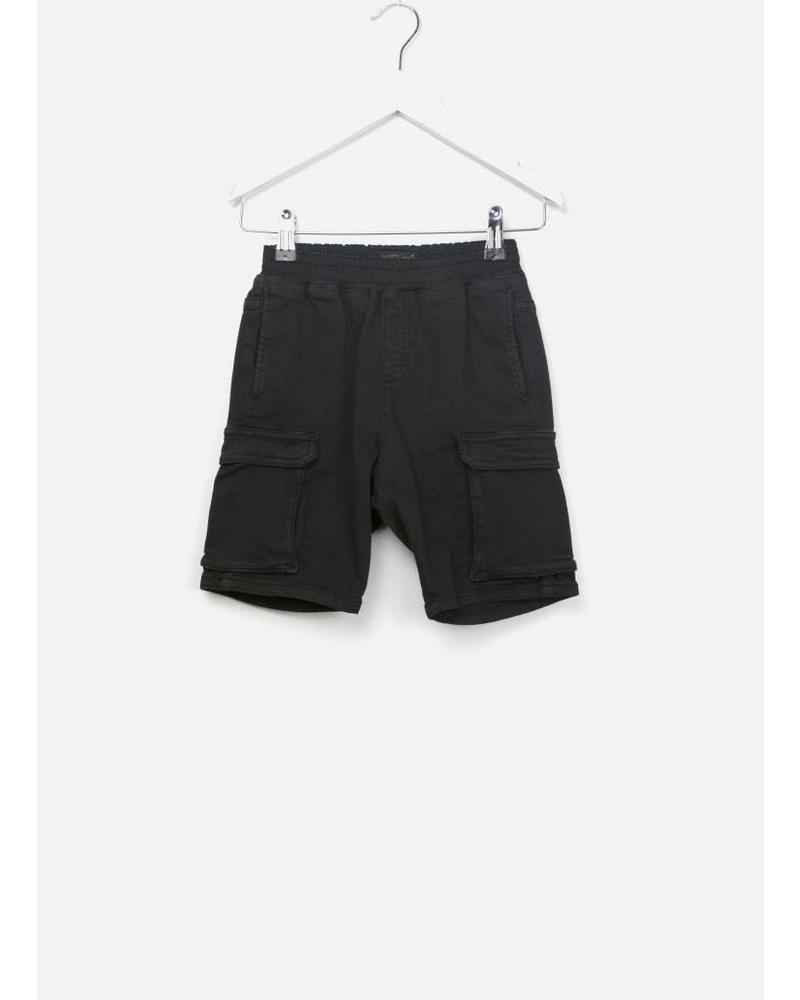 Finger in the nose Shortbeach woven shorts summer black