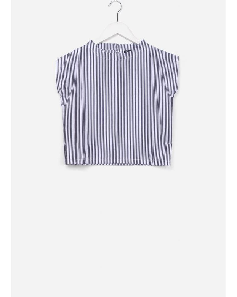 Leoca 31 top tee shirt jeans stripes