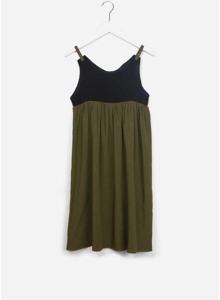 Leoca Dress paloma kaki black