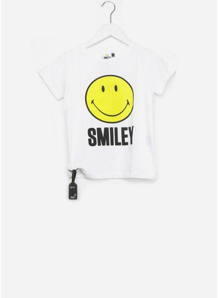 Yporque Smiley sound tee white