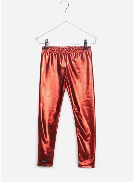 Yporque Metallic leggings red