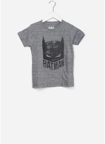 Little Eleven Paris mask shirt grey melange
