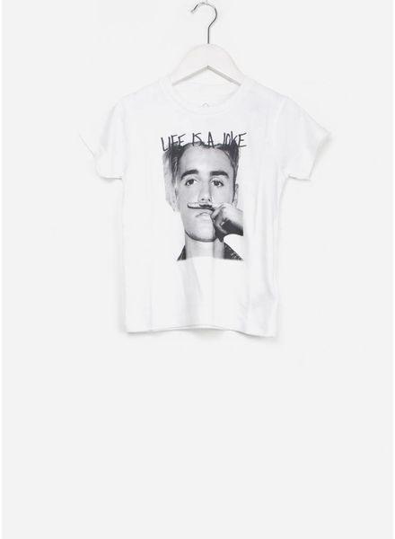 Little Eleven Paris tachber shirt white
