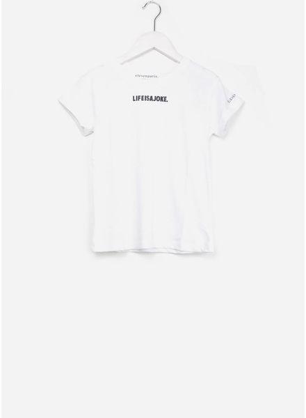 Little Eleven Paris majoke shirt white