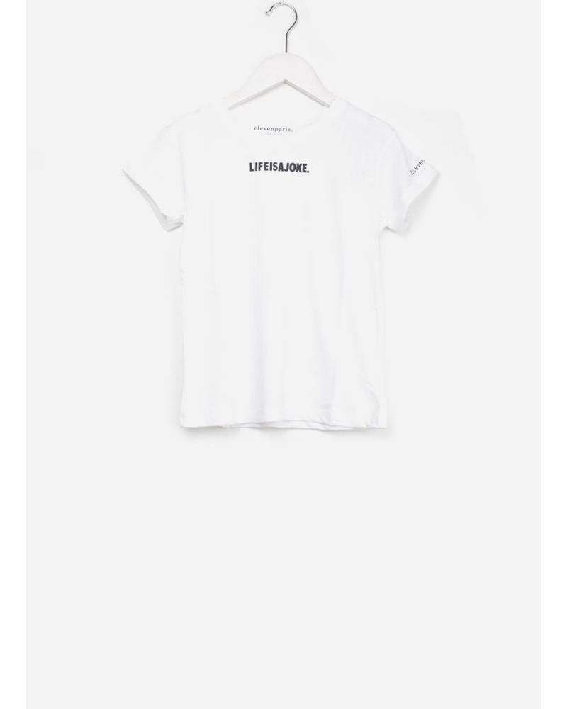 Little Eleven Paris majoke shirt ss white