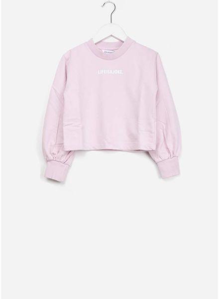 Little Eleven Paris Aspell sweat dust pink