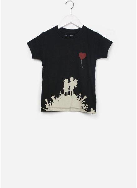 Little Eleven Paris mylove shirt black