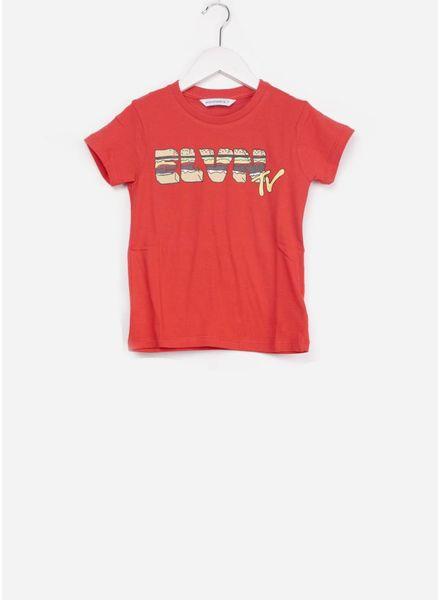 Little Eleven Paris Htv t shirt red