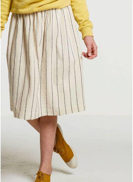 By Bar Angel handloom skirt black