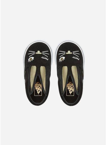 Vans Slip on bunny black