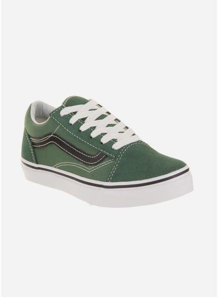 Vans old skool v duck green/black