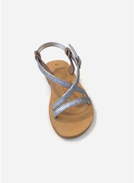 Theluto Sofia sandales glitter silver