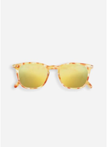 Izipizi Sun #E yellow tortoise - yellow mirror lenses