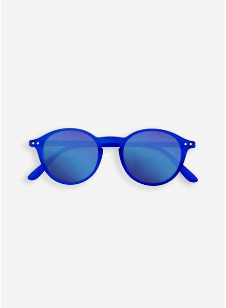 Izipizi Sun #D king blue - crystal blue mirror lenses