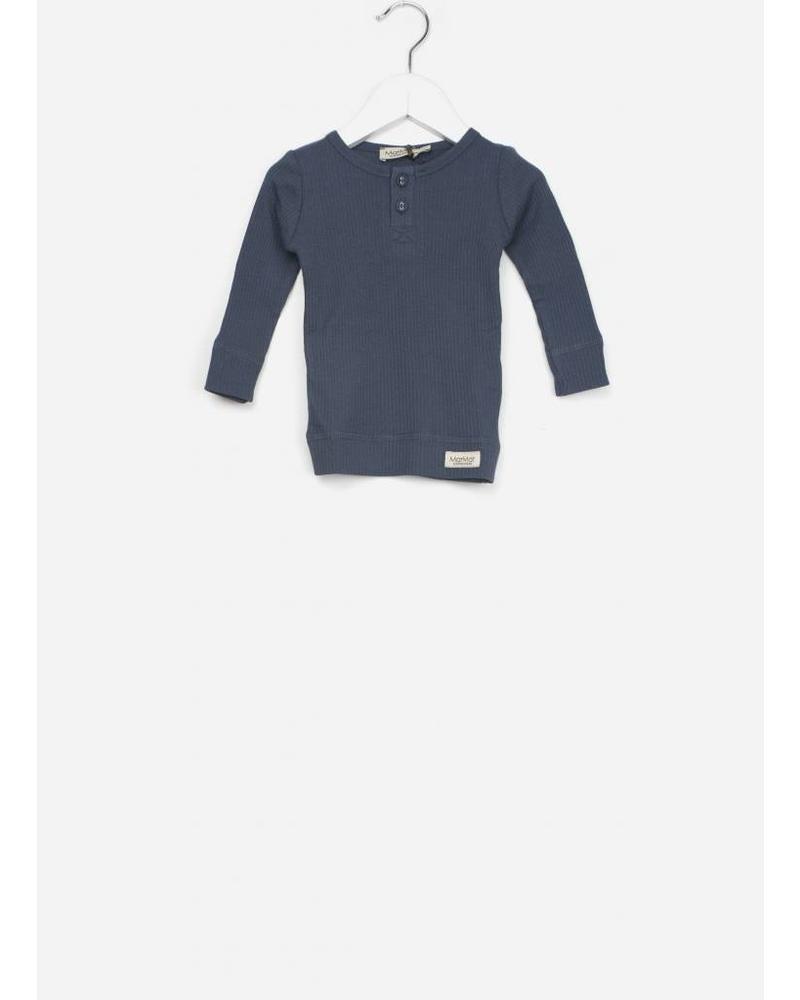 MarMar Copenhagen baby tee modal LS blue