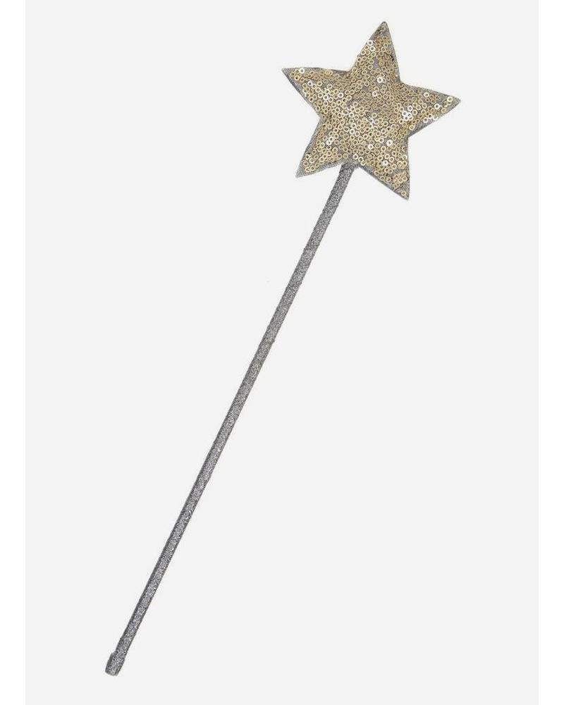 Mimi and Lula witches wand gold