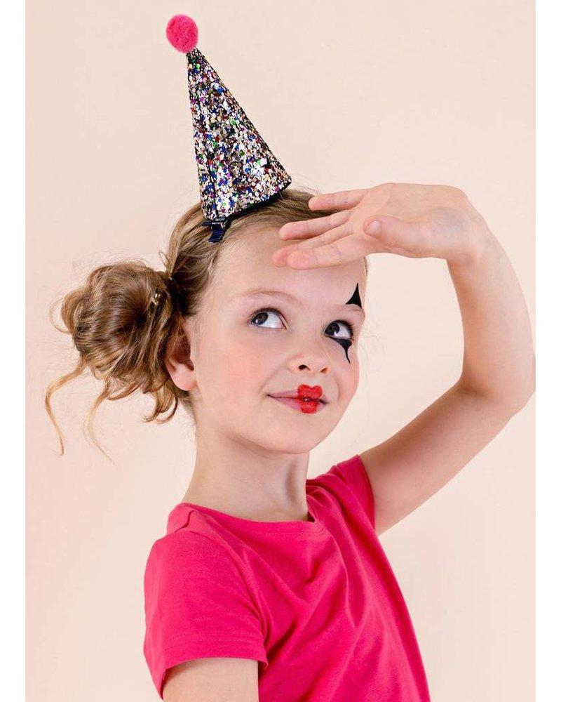 Mimi and Lula glitter party hat multi