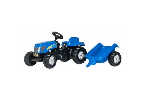 Rolly Toys Kid New Holland Tractorset