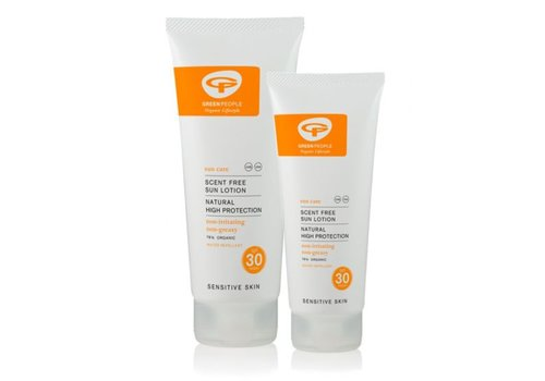 Green People Sun Lotion Scent Free SPF 30