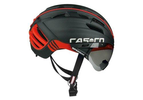 Casco SPEEDster-TC Plus Zwart-Rood