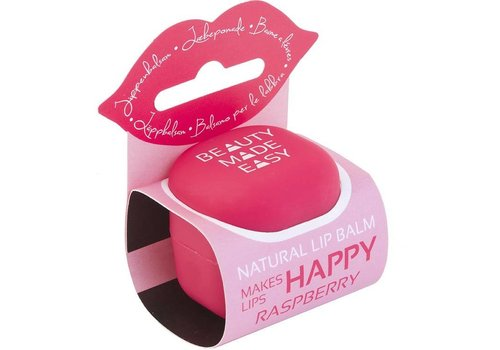 Beauty Made Easy Lipbalsem Raspberry