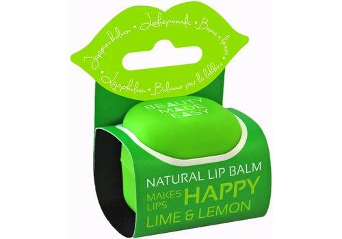 Beauty Made Easy Lipbalsem Lime & Lemon