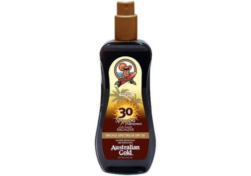 Australian Gold Spray Gel (met bronzer) SPF 30