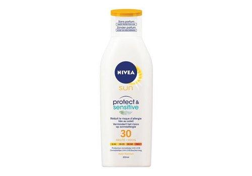 Nivea Sun Protect & Sensitive Zonnemelk SPF 30/50