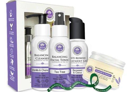 PHB Balancing Skin Care Set