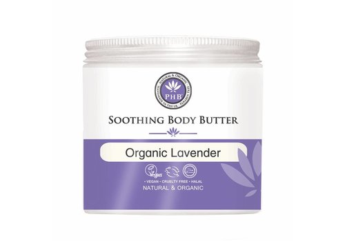 PHB Soothing Body Butter Organic Lavender