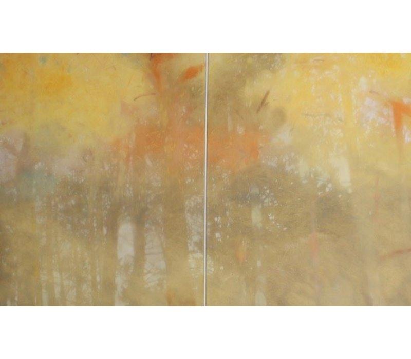Enrico Ingenito - Diptic Yellow