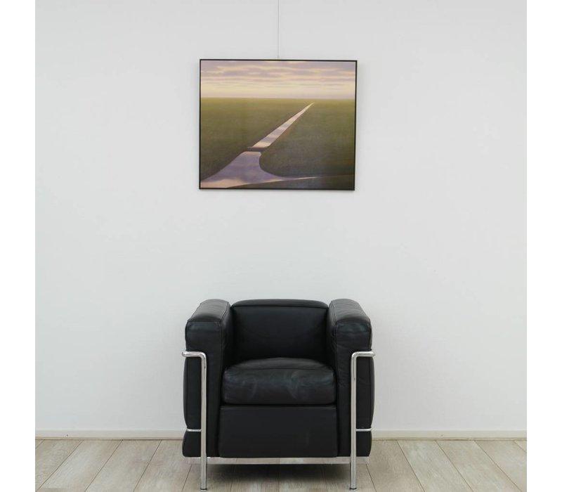 Gerrit  Wijngaarden - Sloot in weiland