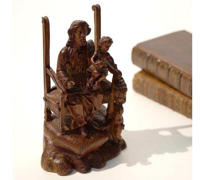 Sint Jozef met het Christuskind
