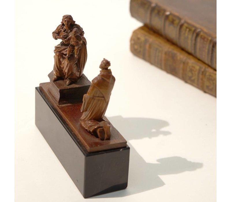 Maria met het Christuskind en St. Jozef