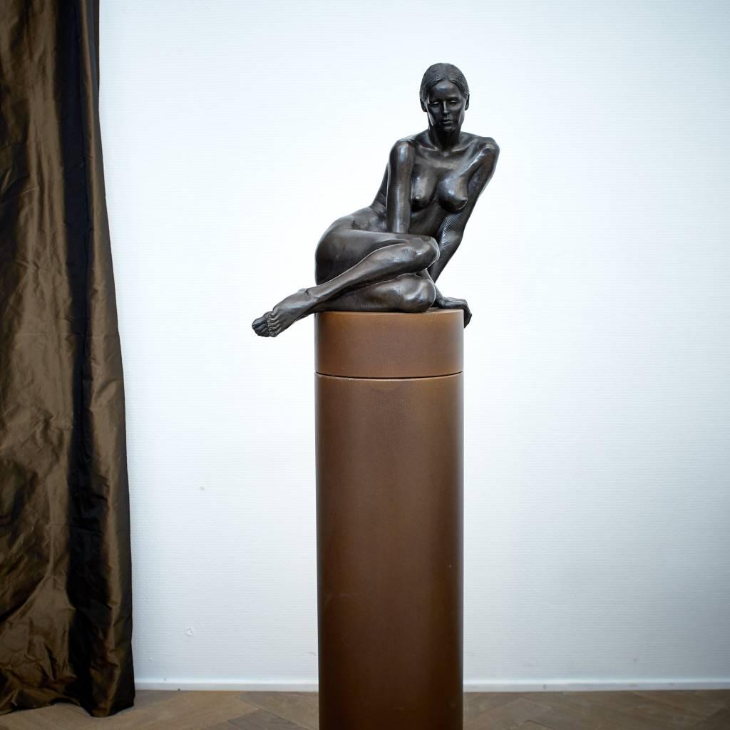 Irenee Duriez Irenee Duriez - Valerie zittend