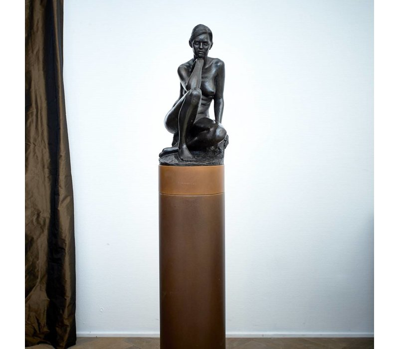 Irenee Duriez - Annelies zittend
