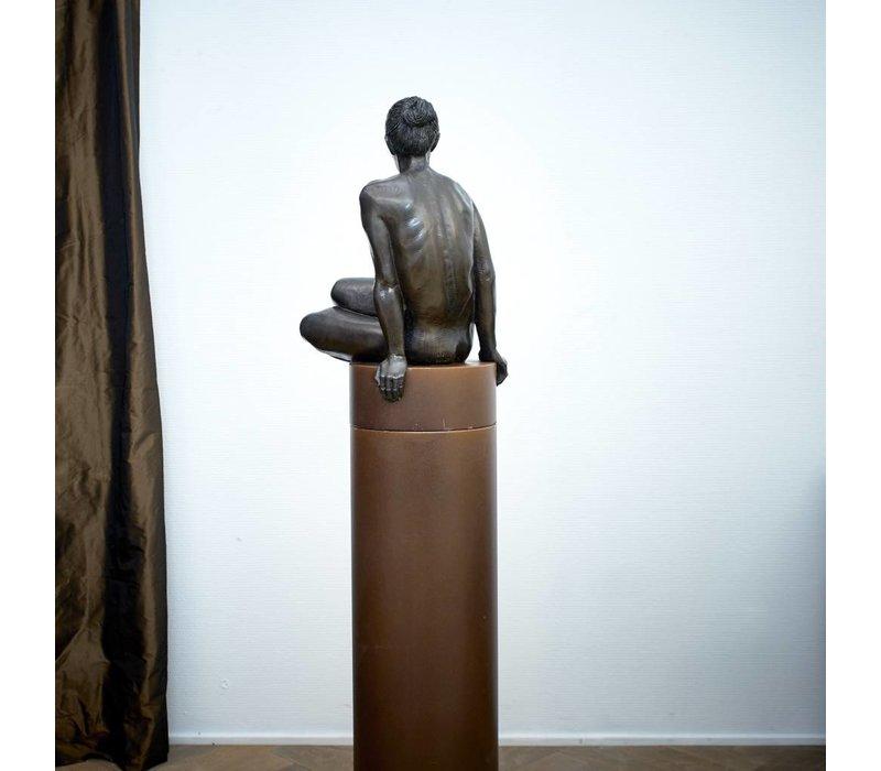 Irenee Duriez - Katrien zittend