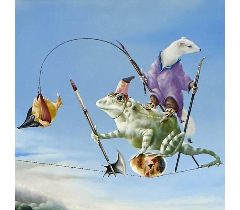 Eugene Peters - De bewaking van het schilderij-ei